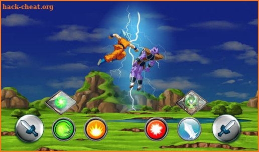 Goku Super Battle warrior screenshot