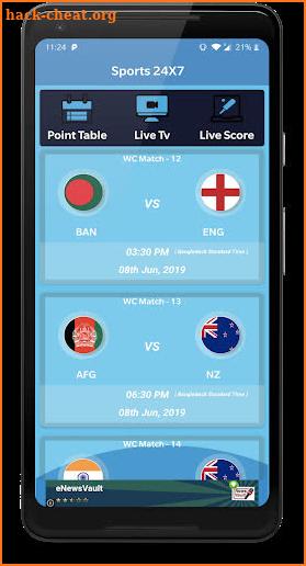 Gtv live Cricket - Sports 24x7 Hack Cheats and Tips   hack
