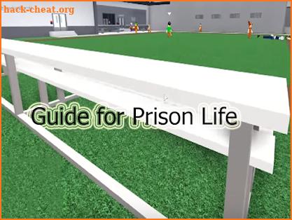 Guide for roblox prison life screenshot