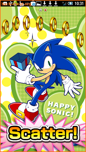 Happy Sonic! Live Wallpaper screenshot