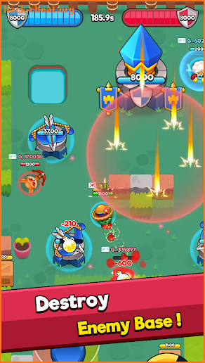 Heroes : Pocket Arena screenshot