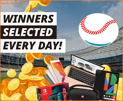 Hit A Gift - Play baseball for free giveaways screenshot