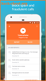 Hiya - Caller ID & Block screenshot