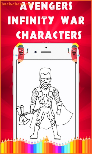How to Draw Avengers Infinity War Characters screenshot