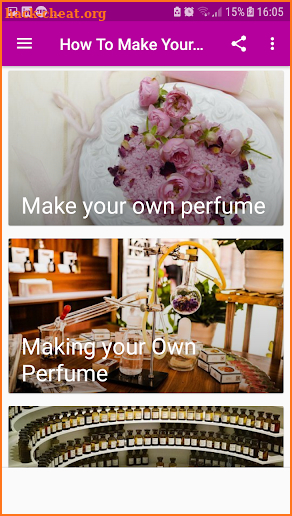How To Make Your OWN Perfume - without internet screenshot