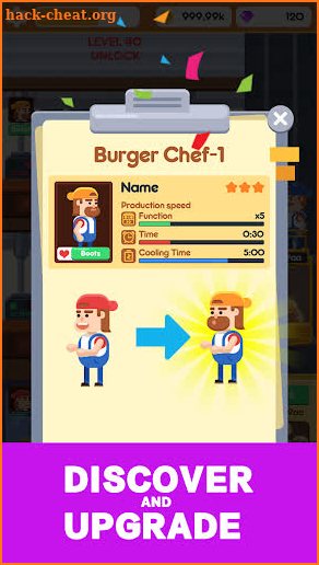 Idle Burger Factory - Tycoon Empire Game Hack Cheats and Tips | hack