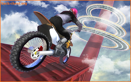 Impossible Mega Ramp Moto Bike Tricky Stunts 2019 screenshot