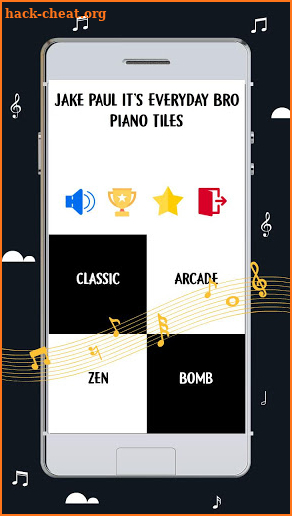 Jake Paul It's Everyday Bro Piano Tiles screenshot