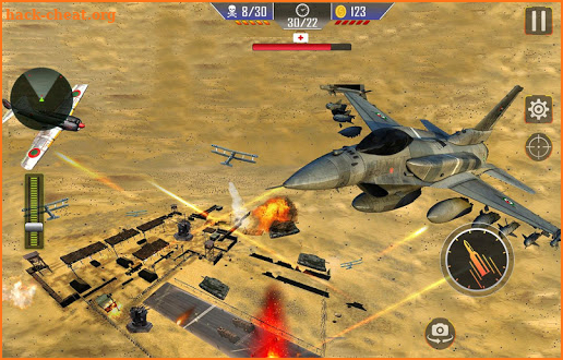 Jet Fighter Air Combat: Modern Warplanes Strike 3D screenshot