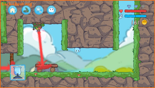 Jumping Slime - Bullet Time Controller screenshot