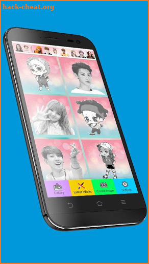 KPOP Idols Color by Number Pixel Art Coloring Game Hack ...