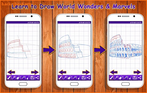Learn to Draw World Wonders & Marvels screenshot