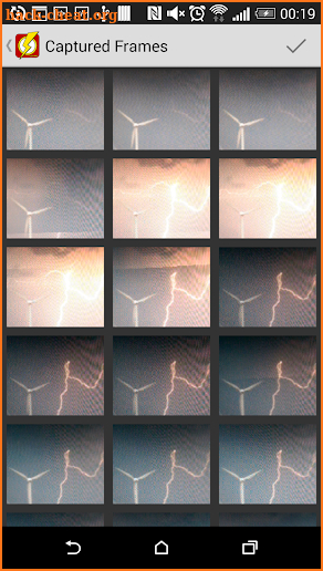 Lightning Camera - take pictures of lightnings screenshot