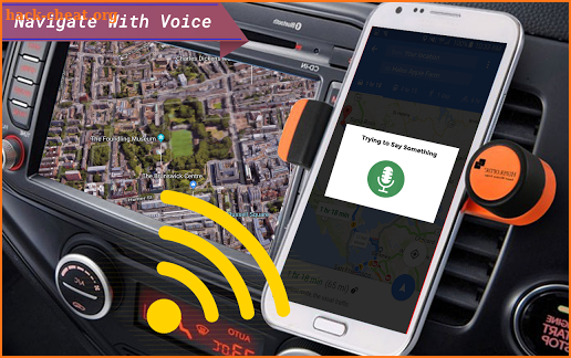 live roads - voice gps navigation, offline maps screenshot