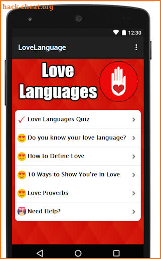 LOVE LANGUAGES QUIZ Hack Cheats and Tips | hack-cheat org