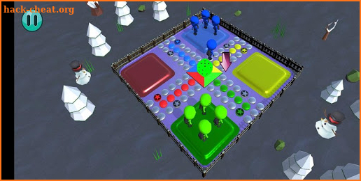 Ludo 3D screenshot
