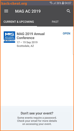 MAGAC19 screenshot