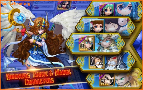 Manga Clash - Warrior Arena screenshot