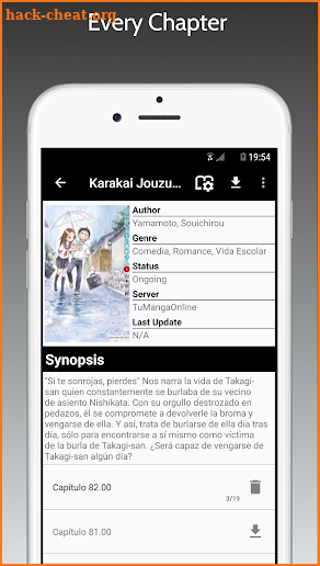 Manga Reader Plus screenshot