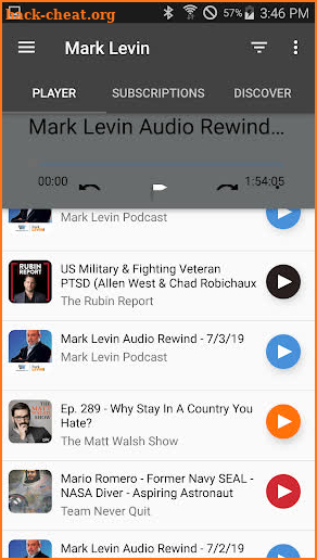 Mark Levin Podcast Daily screenshot