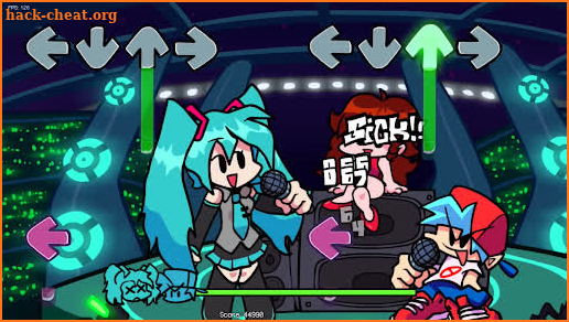 Miku New Mod In Friday Night Music screenshot