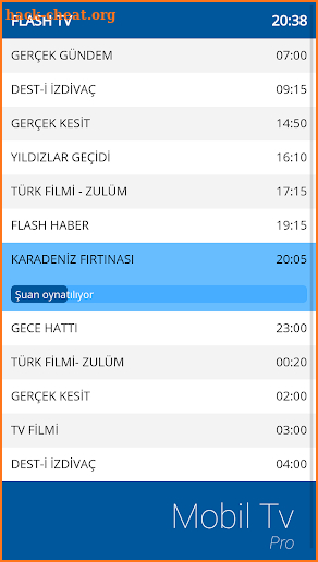 Mobil TV Pro screenshot