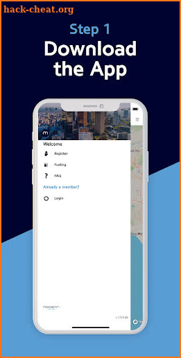 Mocean Carshare screenshot