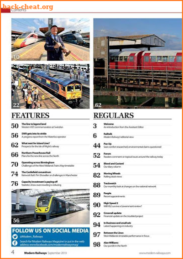 Modern Railways Magazine screenshot