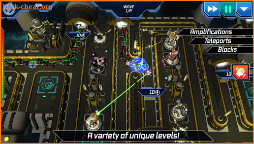 Module TD. Sci-Fi Tower Defense screenshot