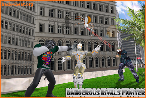 Multi Spider Robot Hero City Crime screenshot