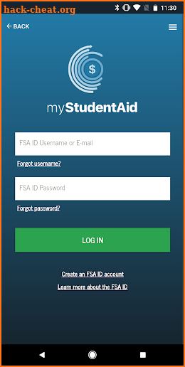 myStudentAid Hack Cheats and Tips | hack-cheat.org