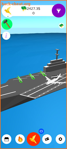 Navy Inc. Tycoon - Aircraft Carrier Idle - Planes screenshot