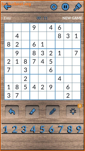 Numbers Puzzle: Sudoku, math learning, line puzzle screenshot