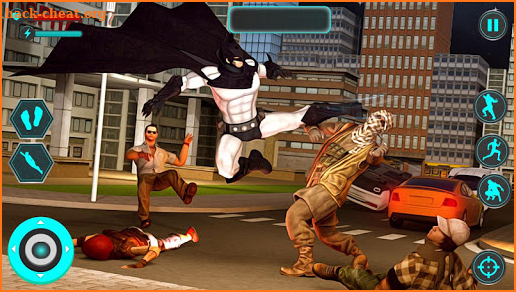 Pacific Bat Superhero Battle & City Rescue Mission screenshot