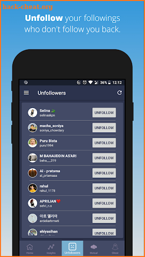 Page Manager for Instagram (Unfollowers, Insights) screenshot
