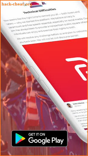 parler app for android: free speech guide screenshot