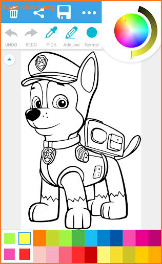 Paw Coloring Book screenshot