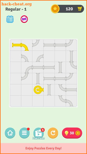 Pipe Puzzle - Conafox gamesPuzzleBrain Games screenshot