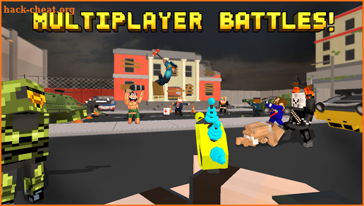 Pixel Fury: Multiplayer in 3D screenshot