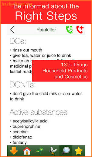 Poisoning: Child First Aid - PRO screenshot