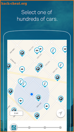 ReachNow CarSharing screenshot