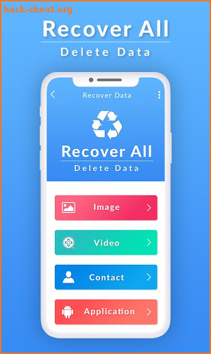 Recover All Deleted data - Data Recovery screenshot