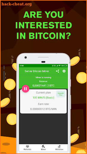 Remote Bitcoin Server Miner - Get free BTC Hack Cheats and ...