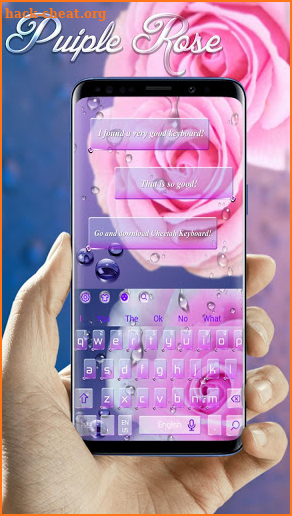 Rose Water Keyboard screenshot