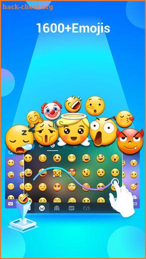 Samsung Galaxy Emoji Free, Kika Keyboard emoticons Hack