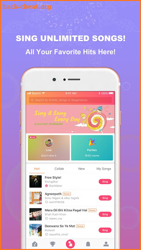 Sargam: Free to Sing with 50M+ Music Lovers screenshot