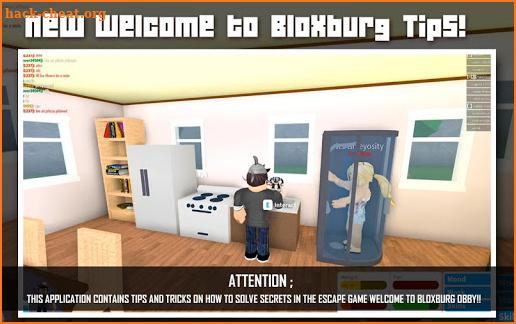 Simulator Welcome To Bloxburg Roblox Tips Hacks Cheats And Tips