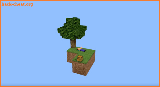 SkyBlock for Minecraft PE screenshot