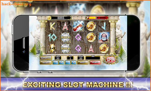 Slot Machine: Zeus screenshot