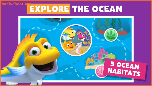 Splash and Bubbles Ocean Adventures screenshot